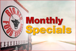 Big Red Food Services SALE